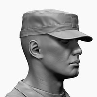 3ds army soldier zbrush