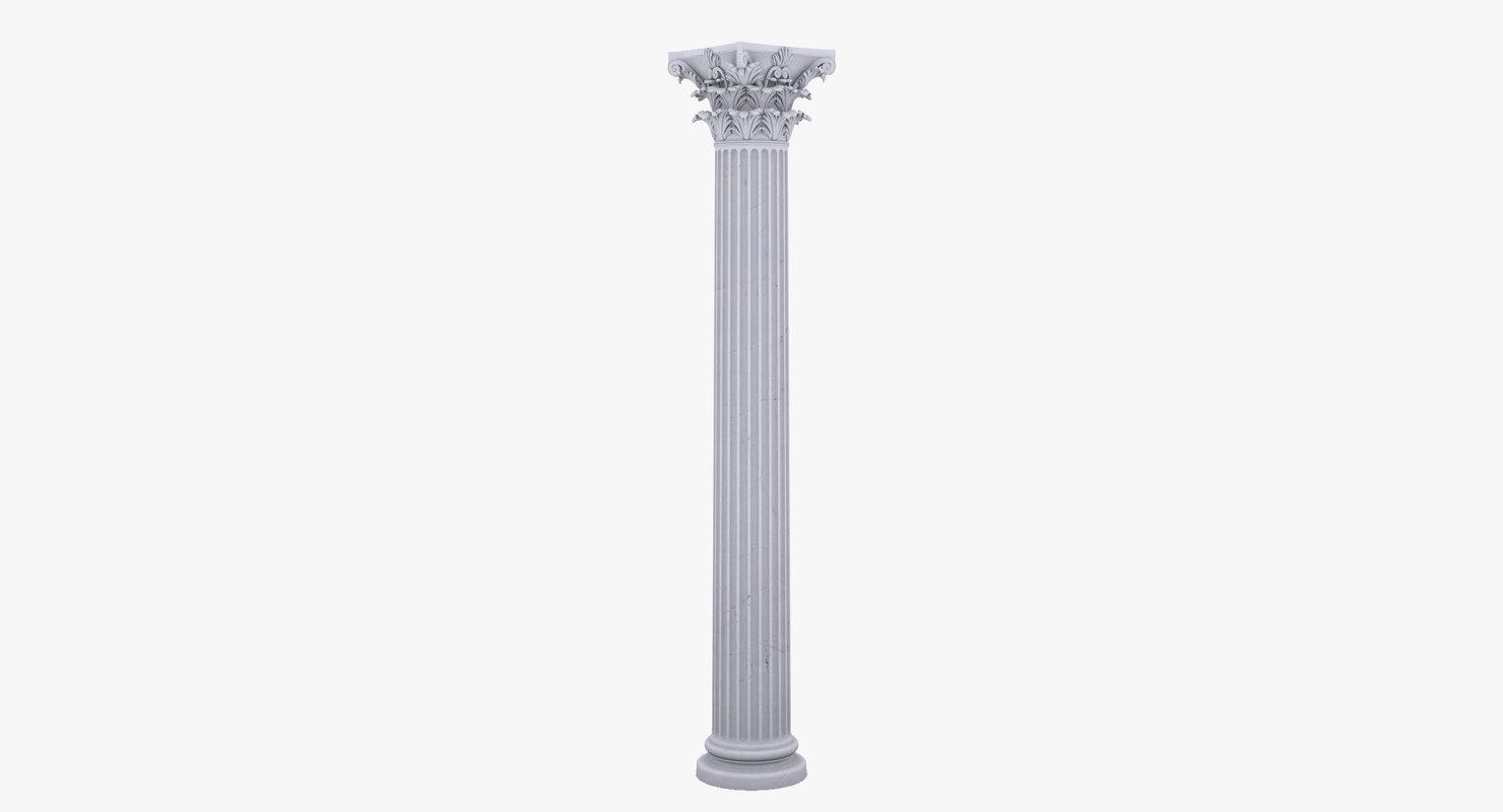 corinthian column capital max