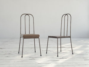 3d model metal chairs