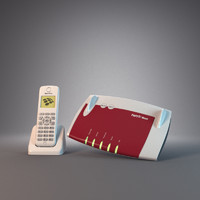 router phone 3d model