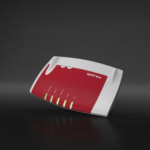 router 3d model