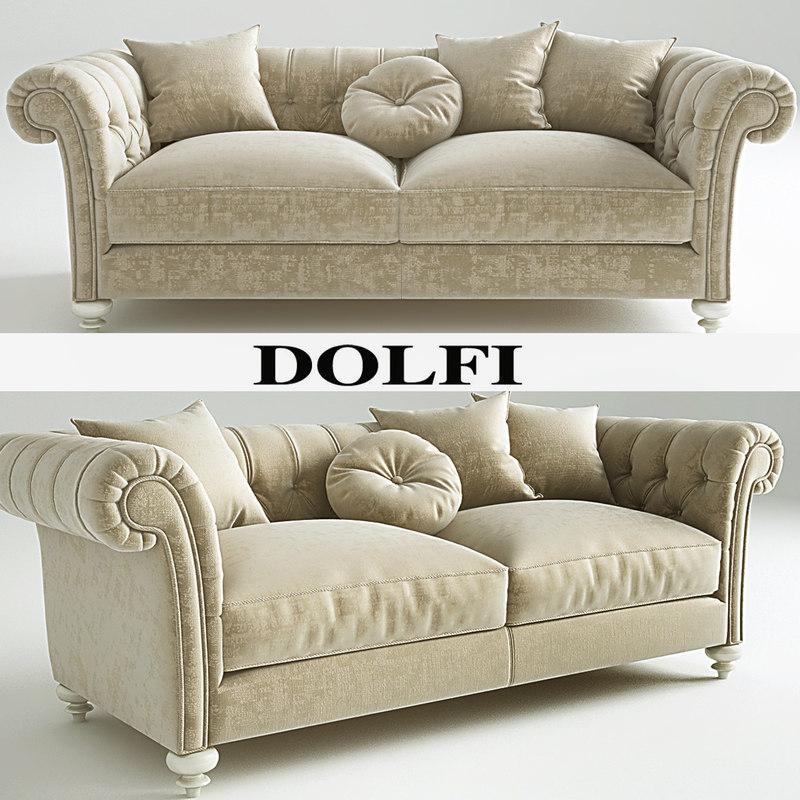 3d dylan sofa dolfi model