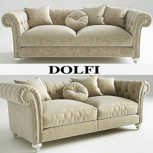 3d dylan sofa dolfi model