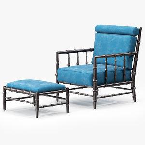 claremont chair 3ds