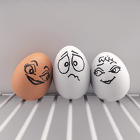 eggs emotions fun obj free
