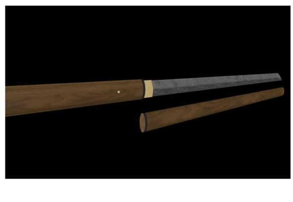 weapon zatoichi shikomizue 3d model