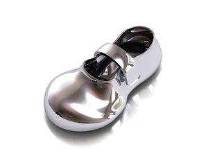 baby shoe 3d 3ds