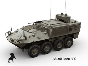 max bison 8x8 mowag