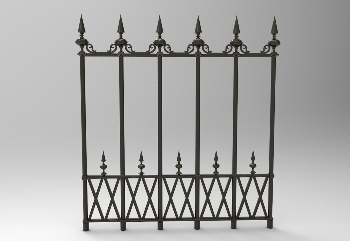 wrought iron fence victorian. Iron Fence Wrought Victorian I