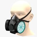 Respirator Mask 3D models