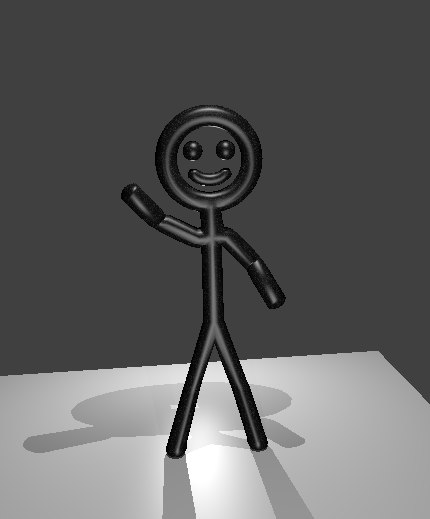 3ds stick figure
