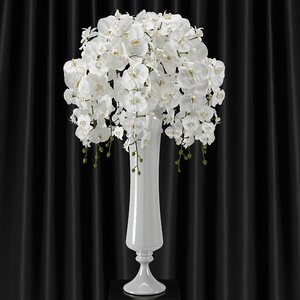 3d orchid bouquet