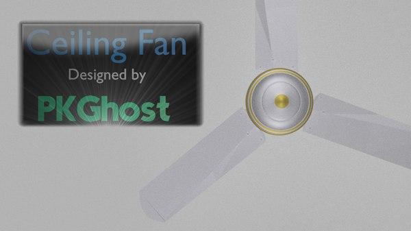 ceiling fan 3d model