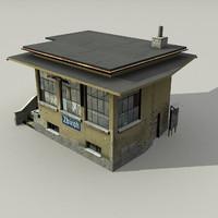 3d box building