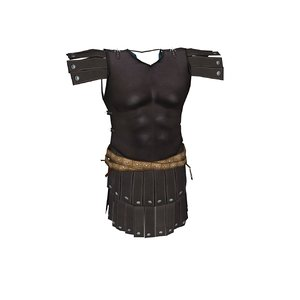 armor chainmail cuirass 3d model
