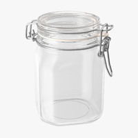 Hinged Glass Kitchen Jars 02