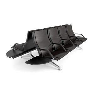 3d chair airports stations mauro model