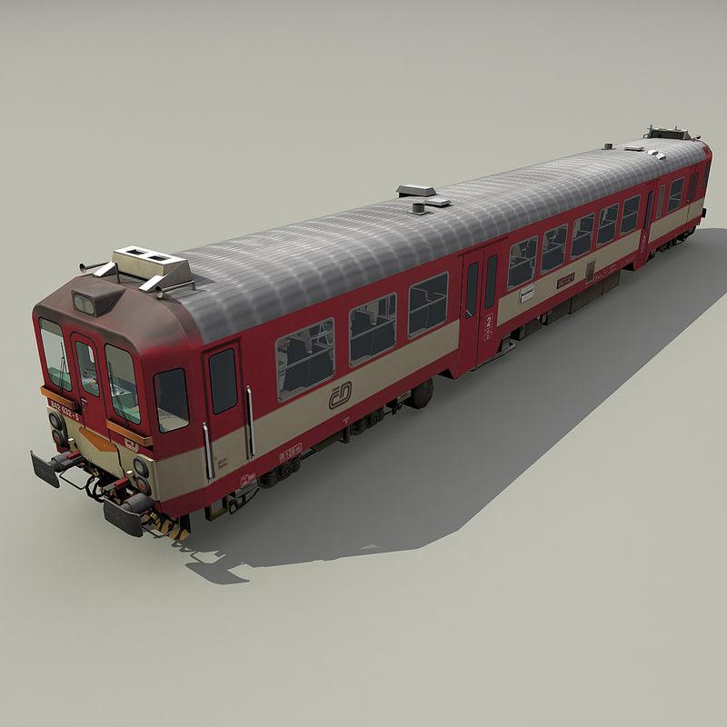 diesel multiple unit 842 3d model