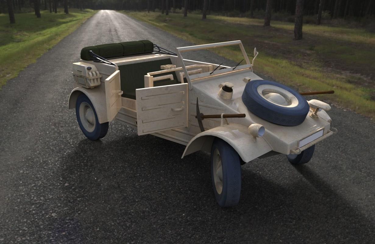 kubel wagon obj