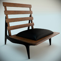 sergio rodrigues rosewood lounge chairs max