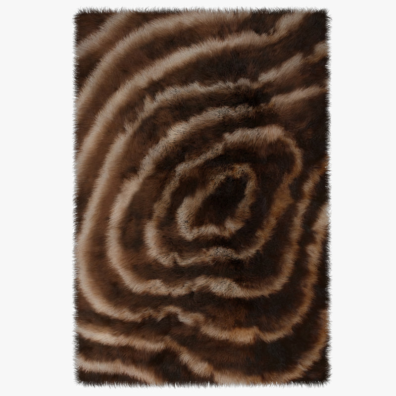 3d model fur carpet