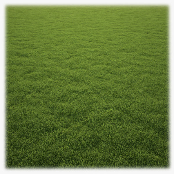 realistic lawn grass clump 3ds