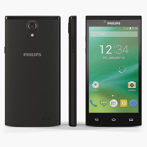 low-poly philips s398 3d max