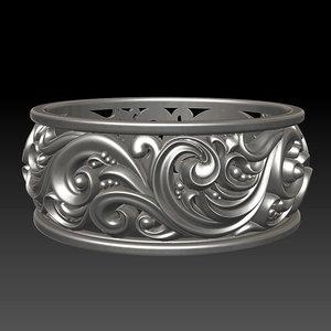 3d ornament ring 2