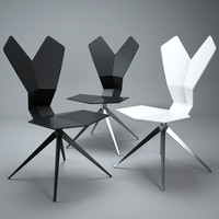 3d tom dixon y chair