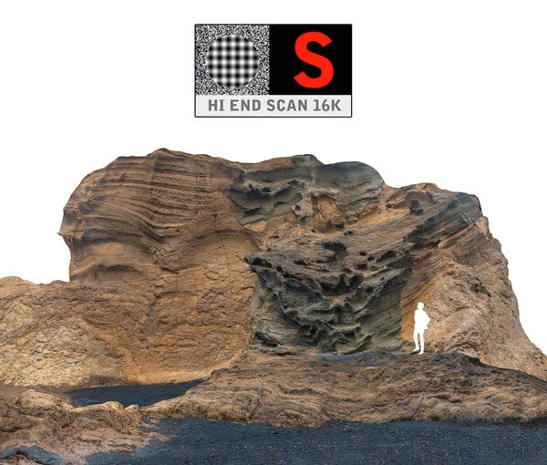 3d model ocean cliffs 16k