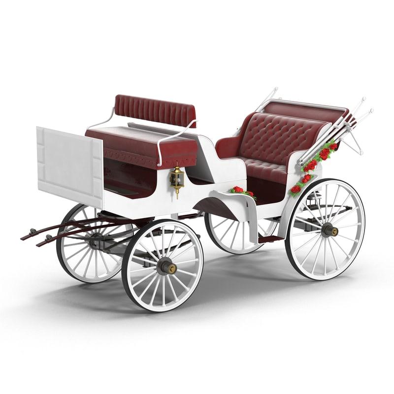 wedding carriage max