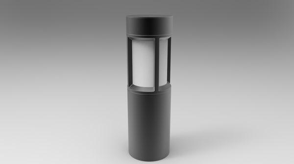 3d garden light
