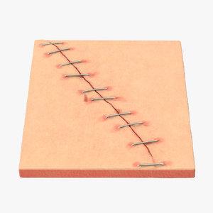 staples 3d model