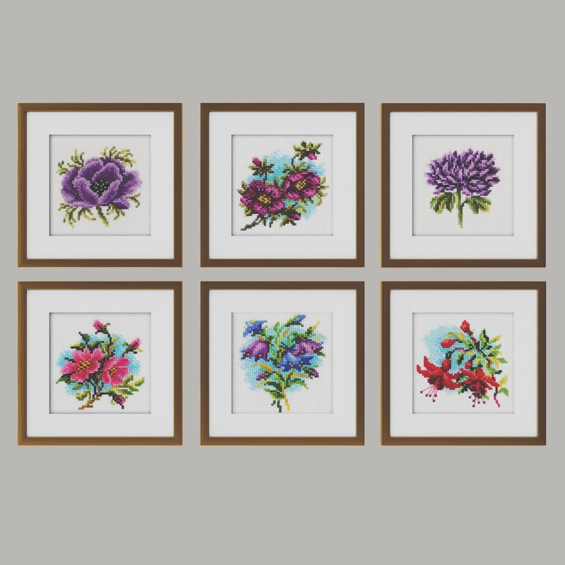 3d embroidery frames