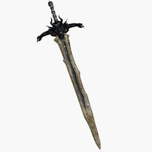 dragonsword swords 3d model