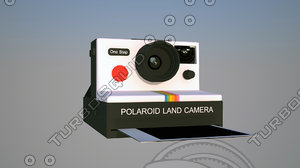3d model polaroid step