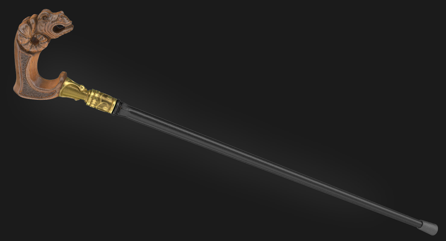 cane 3d max