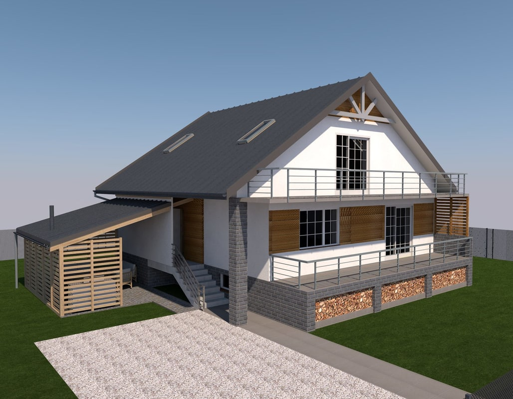 House Archicad 3D Models for Download | TurboSquid