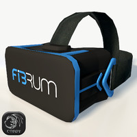fibrum vr headset ultra 3d 3ds