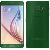 samsung galaxy s6 green 3d c4d