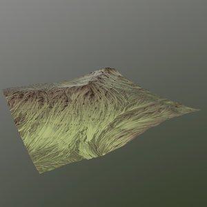 fbx hills cliffs terrain