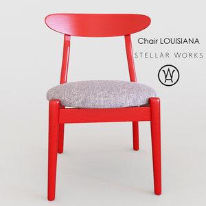 louisiana chair max