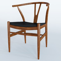 Chair Wishbone Leather