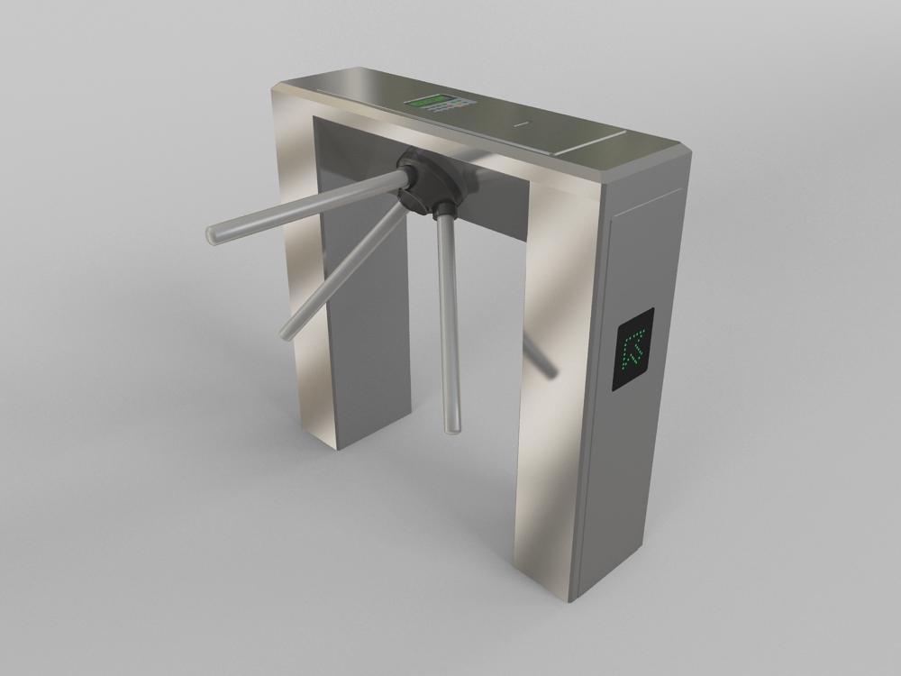 3d model turnstile