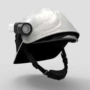 fireman helmet 3d max