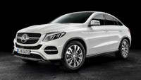 3d mercedes-benz gle coupe 2016 model