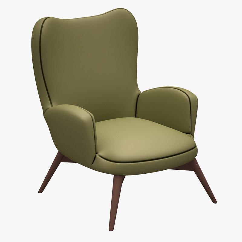 armchair chair fbx