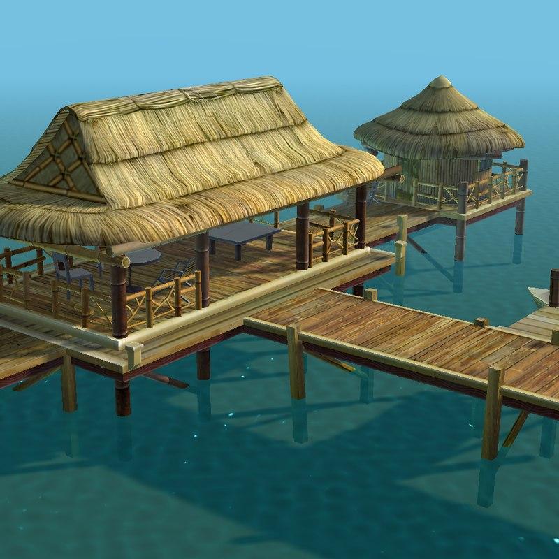 3d bungalow -