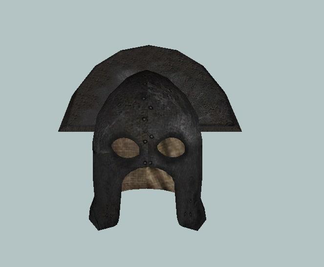 3ds orc helmet