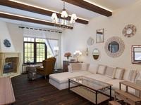 3d interior living room kitchen